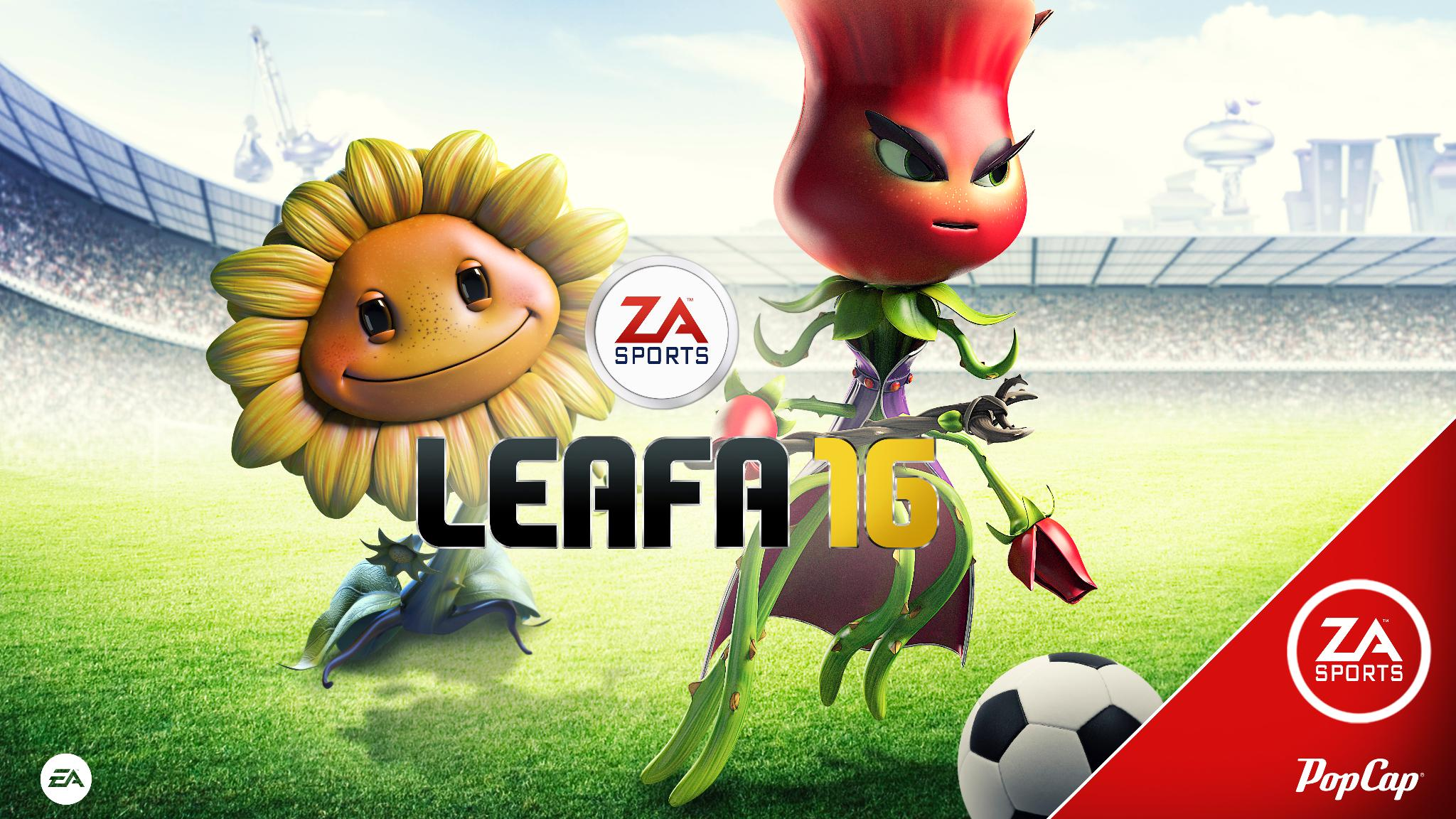 Plants vs. Zombies Garden Warfare 2 - FIFA 16