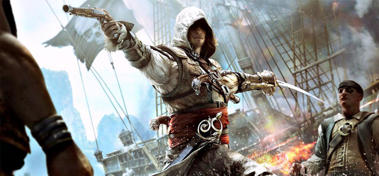 Assasins Creed IV: Black Flag'den oyuniçi ilk video!
