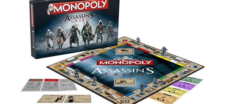 Şimdi De Monopoly: Assassin's Creed!
