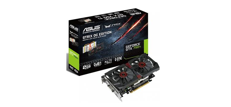 Asus GeForce GTX 750 Ti Strix OC Edition İncelemesi