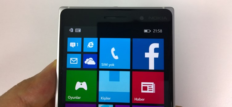 Nokia Lumia 830 İncelemesi (Video)