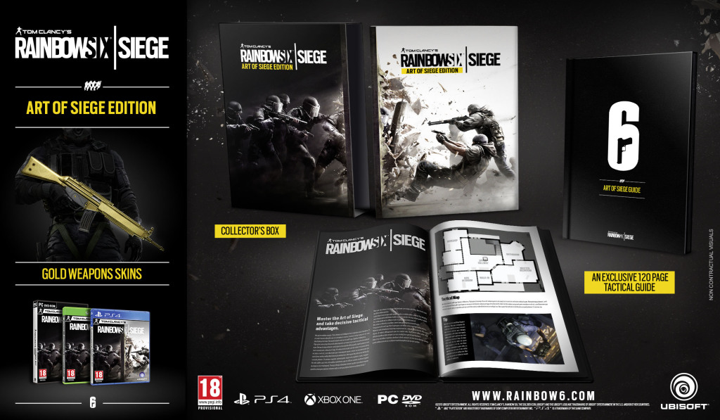 Fragtist Rainbow Six Siege Collector