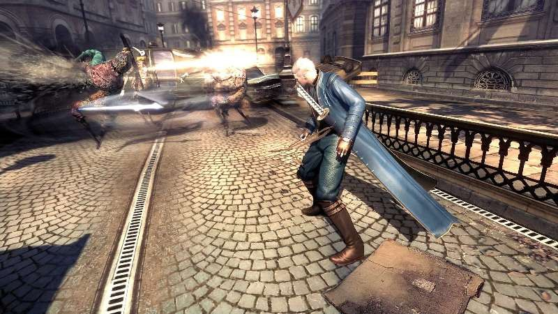 Fragtist Vergil Devil May Cry 4 Special Edition Force Edge