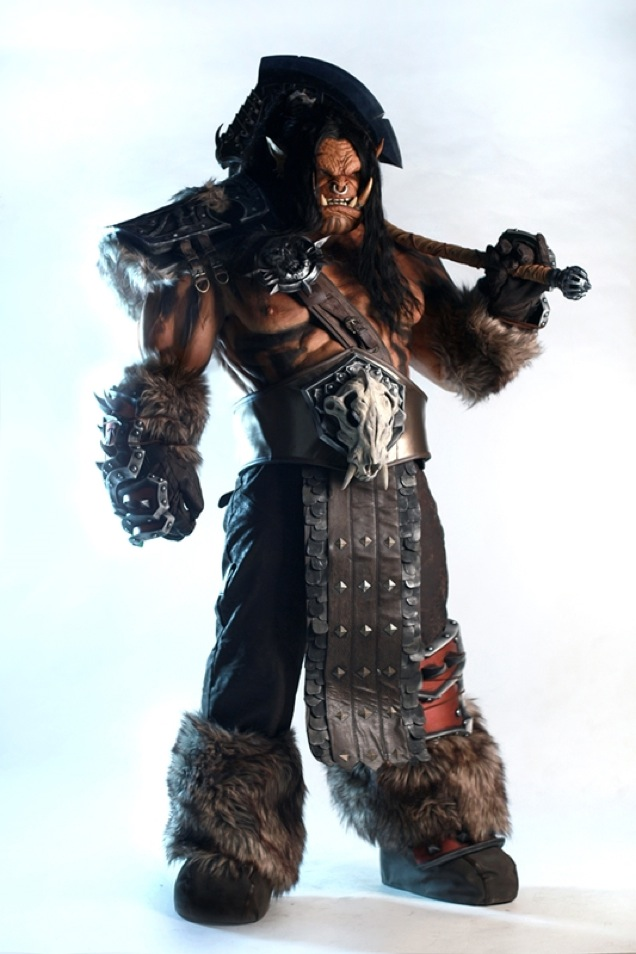 Fragtist Grommash Hellscream cosplay (5)