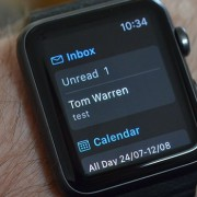 Outlook Apple Watch'a Geldi!