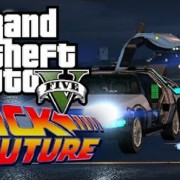 Grand Theft Auto V'te Back to the Future Kısa Filmi Çekildi