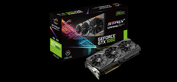 ASUS Republic Of Gamers Strix GeForce GTX 1080 Duyuruldu