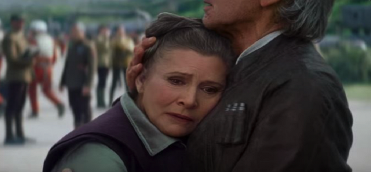 Carrie Fisher Star Wars: Episode 9'da da Olacak