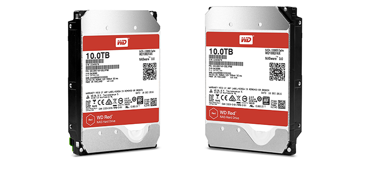 Western Digital, WD RED ve WD RED PRO'yu 10TB Kapasiteye Çıkarttı