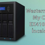 WD, My Cloud EX4100, NAS İncelemesi