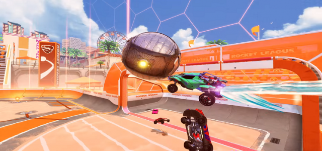 Rocket League'e Salty Shores Güncellemesi Geliyor!