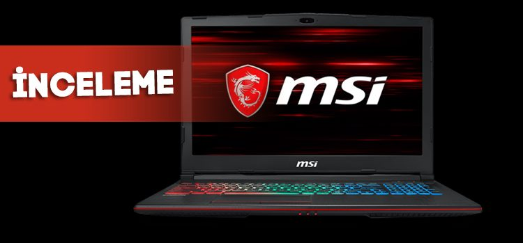 MSI GP63 Leopard 8RE Laptop | İnceleme