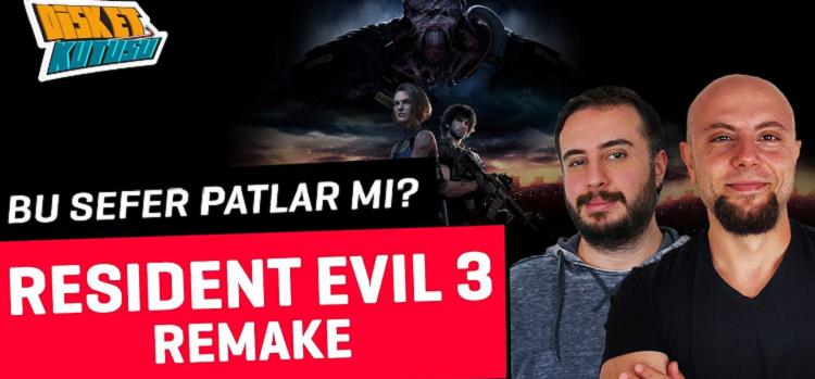 Resident Evil 3 Remake Patlar mı?