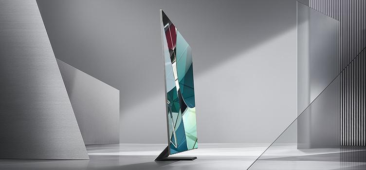 Samsung, CES 2020'de Yeni Çerçevesiz QLED 8K TV Modelini Tanıttı!