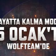 Wolfteam'e Hayatta Kalma Modu Geliyor!