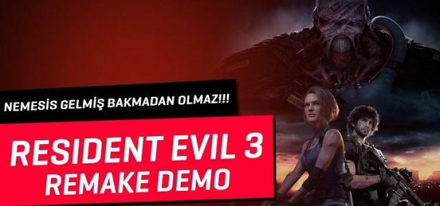 Resident Evil 3 Remake Demo | Nemesis Gelmiş Bakmadan Olmaz!