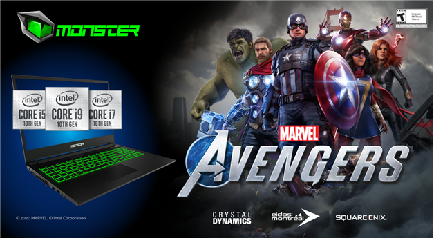 Monster Notebook'tan Marvel's Avengers Kampanyası - Fragtist