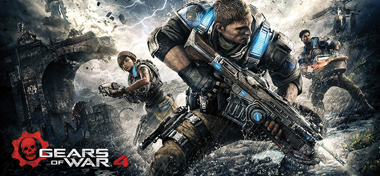 fragtist Gears of War 4 Gears Of War 4 Pc Savaş Oyununu Full İndir