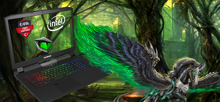 Intel ESL Türkiye Şampiyonası Ana Sponsoru Monster Notebook