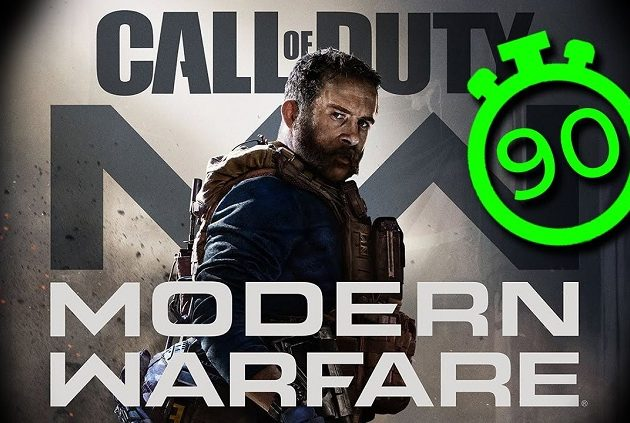 90 Saniyede Call of Duty: Modern Warfare
