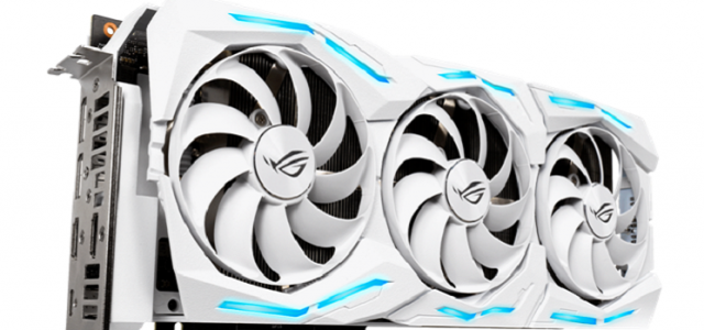 ASUS, Strix GeForce RTX 2080 Ti White Edition Modelini Duyurdu