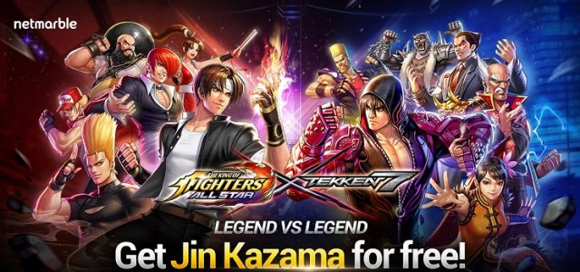 Tekken Savaşçıları The King of Fighters Allstar'a Geliyor!