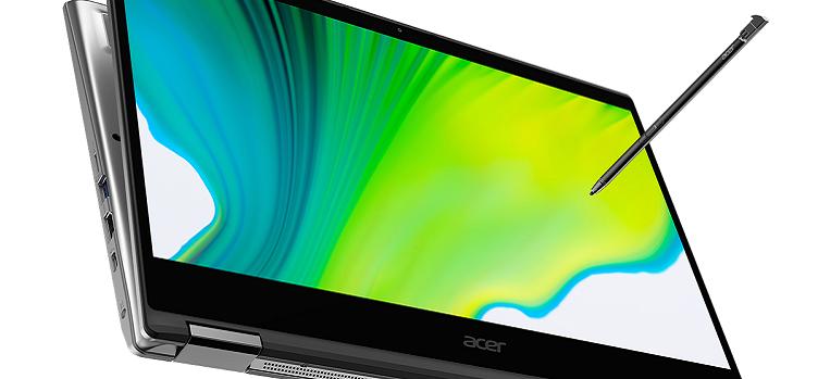 Acer, Spin Serisi Dönüştürülebilir Dizüstü Bilgisayarlarını Geliştiriyor