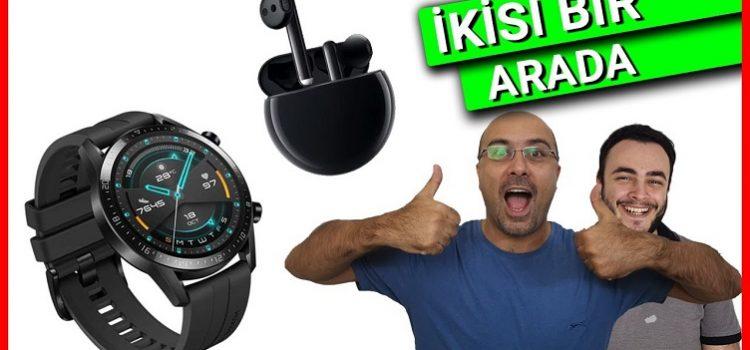 Huawei Watch GT 2 ve Huawei FreeBuds 3 İncelemesi
