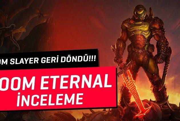 DOOM ETERNAL İNCELEME | DOOM SLAYER GERİ DÖNDÜ!