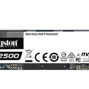 Kingston KC2500 NVMe PCIe SSD Duyuruldu